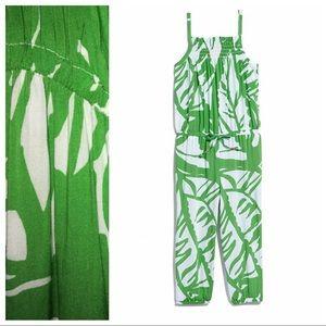 Lilly Pulitzer x Target Green Boom Boom Jumpsuit